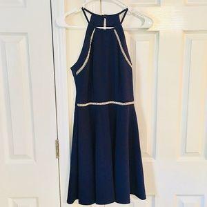 Women's / Juniors Navy Blue Party Dress. Size 5/6